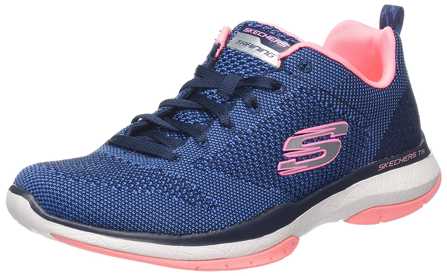 Skechers Burst TR-Close Knit, Zapatillas para Mujer: Amazon.es: Zapatos y complementos