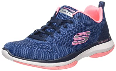 Skechers Burst TR Women's Sneakers, BlackWhite, 10: Amazon