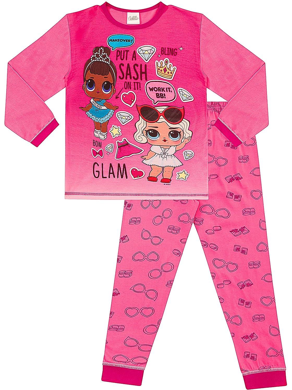 LOL Surprise Dolls Girls Pyjamas L.O.L Pink 3 to 8 Years