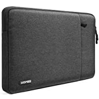 "HOMIEE 13-13.3 Inch Laptop Sleeve Shockproof Water Resistant Laptop Case Bag for New MacBook Pro, MacBook Pro Retina, MacBook Air, 12.9"" iPad Pro, Dell XPS, Lenovo/HP/Chromebook Ultra Slim Notebook, Dark Gray"