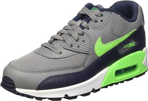 Nike Air Max 90 Mesh (GS), Chaussures de Sport garçon