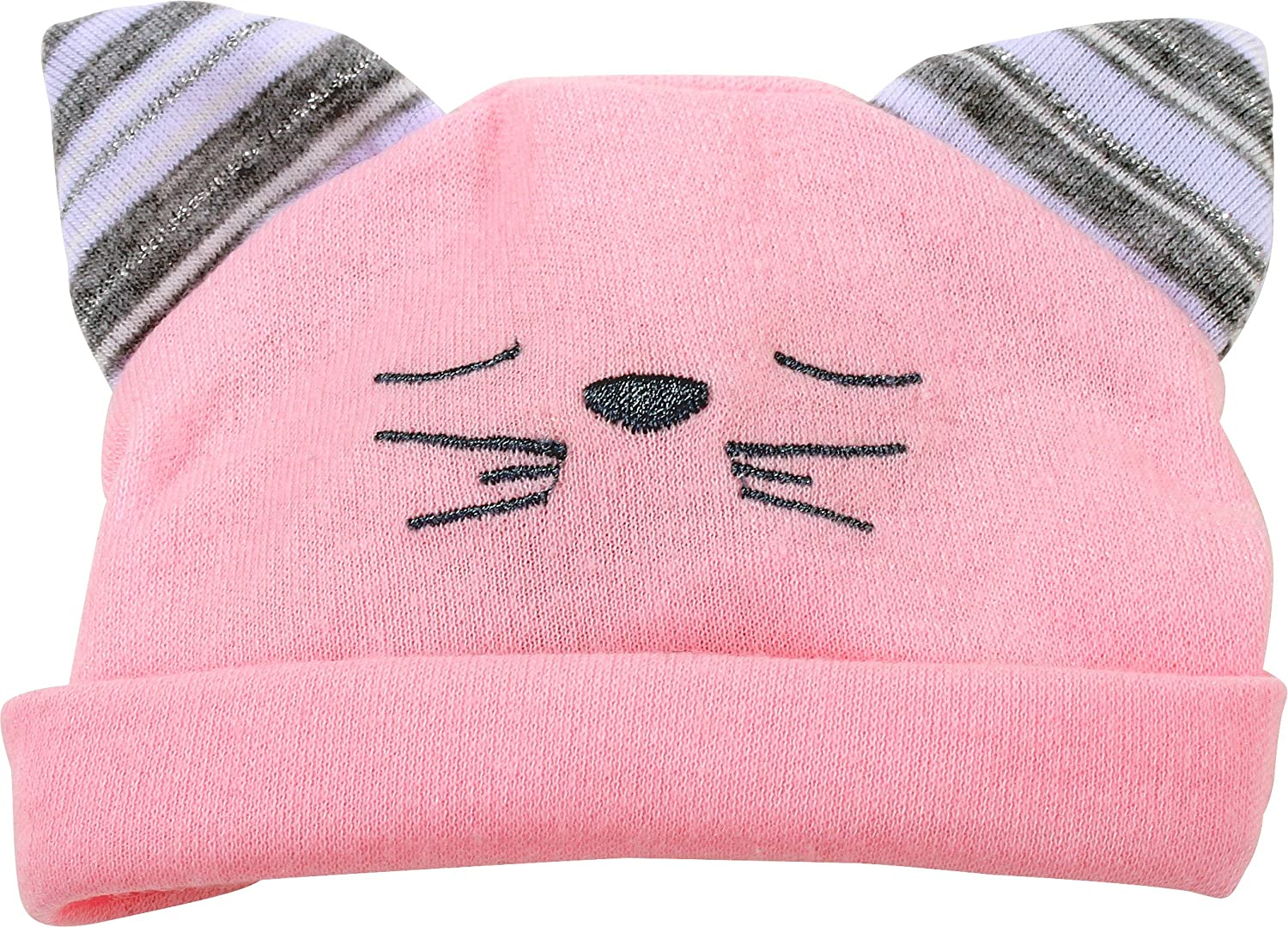"Gotz Basic Boutique Pink Hat with Cat Ears for 13"" Baby Doll"