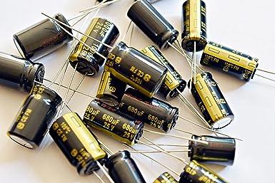10pcs 560uf 50v Electrolytic Capacitors 50v560uf Nichicon Low ESR Upgrade 35v