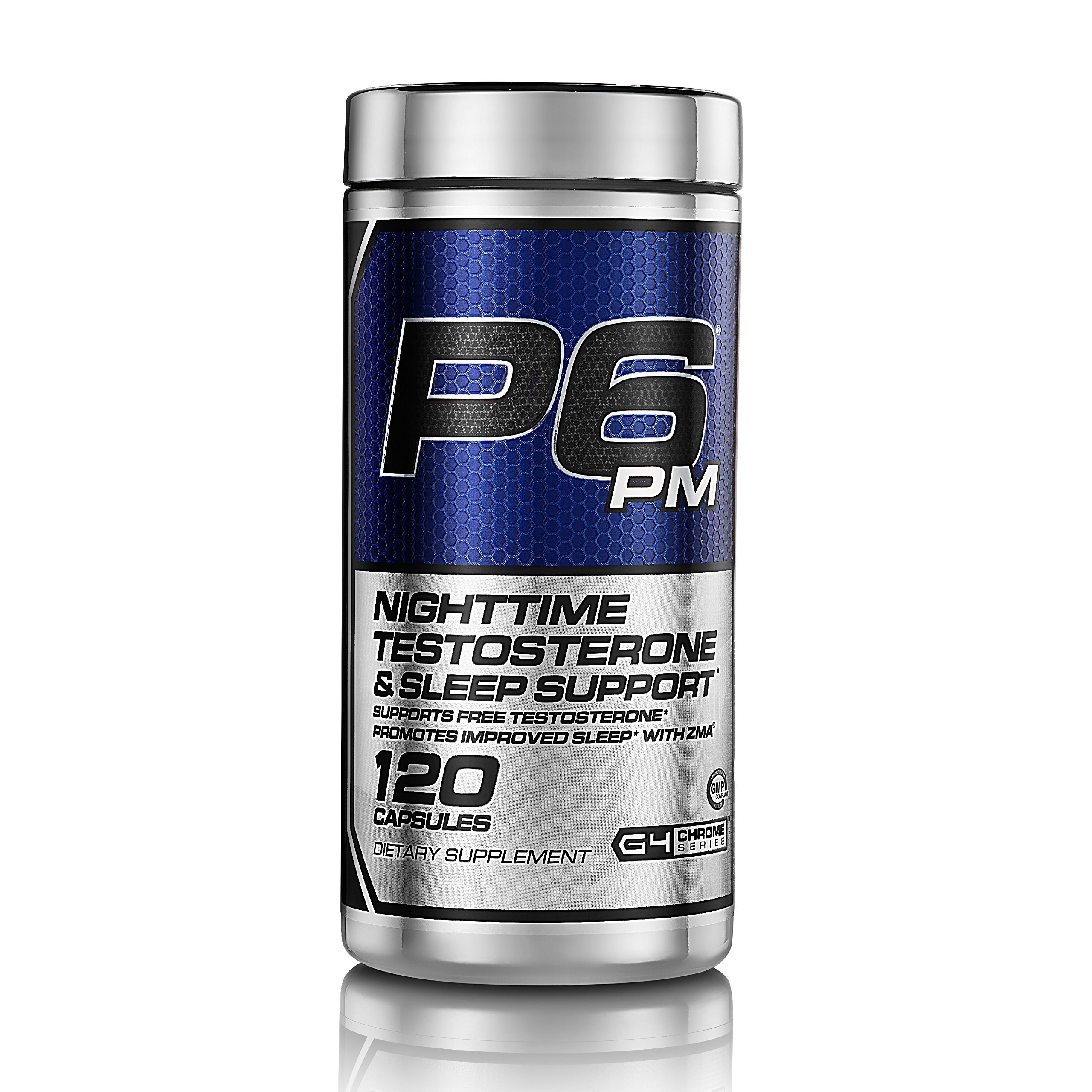 Cellucor, P6 PM, Nightime Testosterone & Sleep Support, 120 Capsules