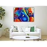 Tamatina Canvas Painting - Divine Ganesha - Modern Art