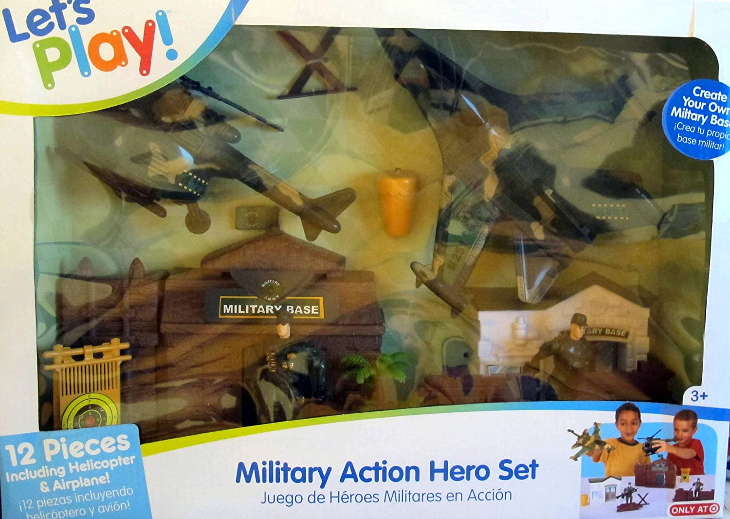 Military Action Hero Set by Jakks Pacific
