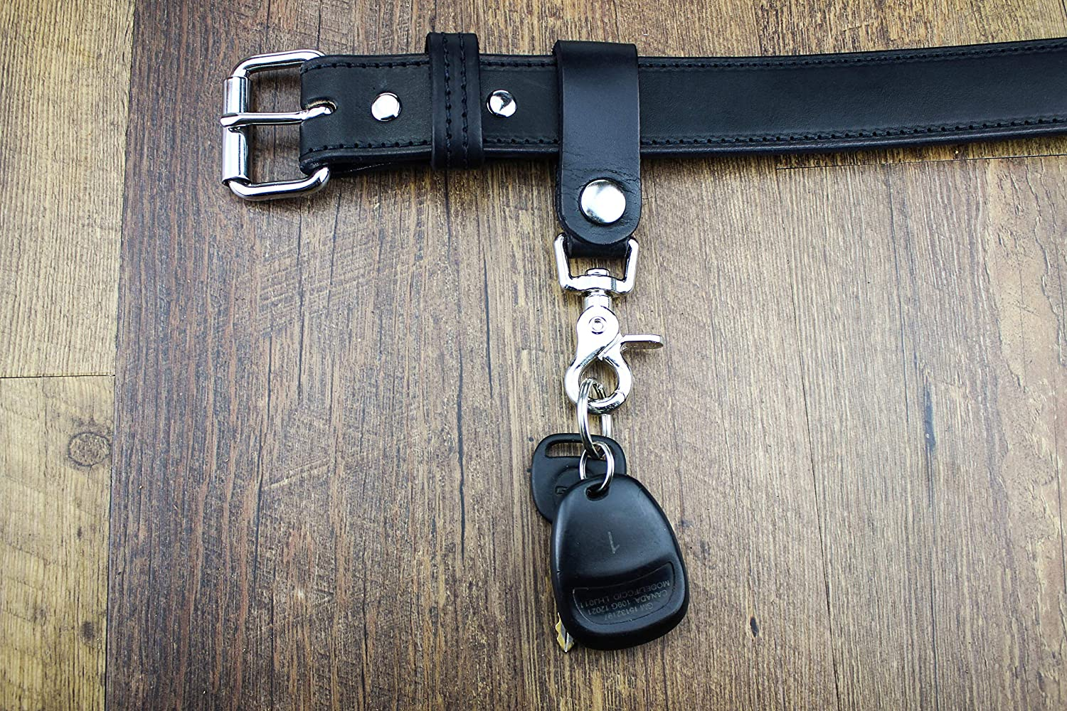 Luxury Valet Keychain Relentless Tactical The Ultimate Leather Keychain Leather Belt Keeper Key Ring Organizer Hand Made of Full Grain Leather Quick Detach Made in USA