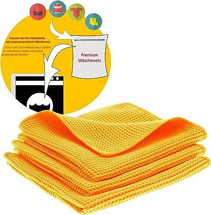 60 X 80 Cm lavable a máquina Azul Waffle rápido de microfibra de secado de Paño