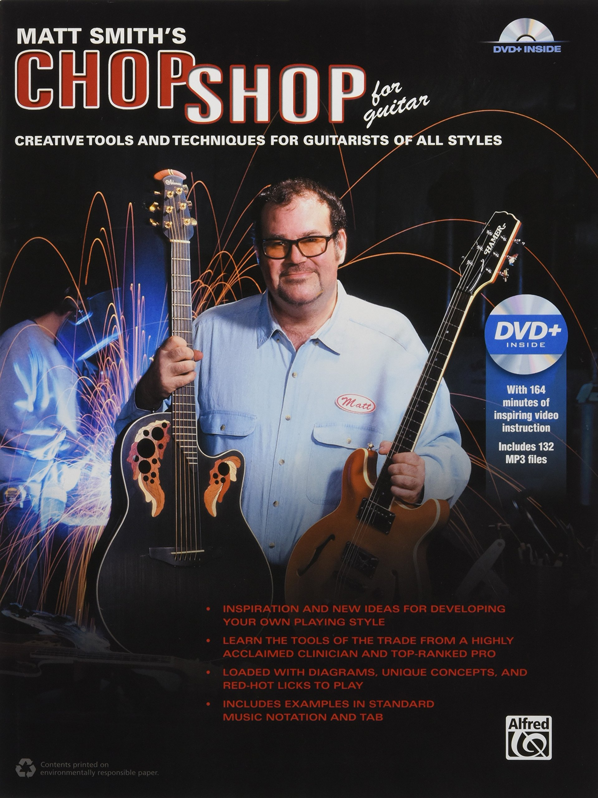 Matt Smith's Chop Shop for Guitar: Creative Tools and Techniques for  Guitarists of All Styles, Book and DVD: Matt Smith: 0038081492100: Books -  Amazon.ca