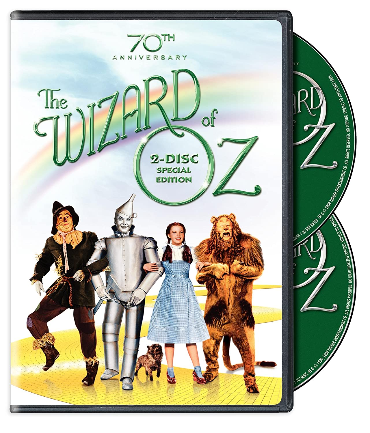 amazon com the wizard of oz 70th anniversary two disc special