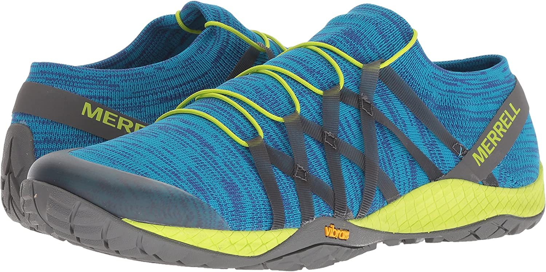 Merrell - Trail Glove 4 Knit Hombres , Azul (sodalite), 7 D(M) US: Amazon.es: Zapatos y complementos