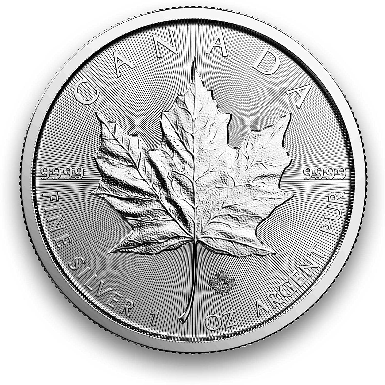 Moneda de Plata Maple Leaf 1 onza – Set estampada 1er 10 o Juego de 25, 2017493-006