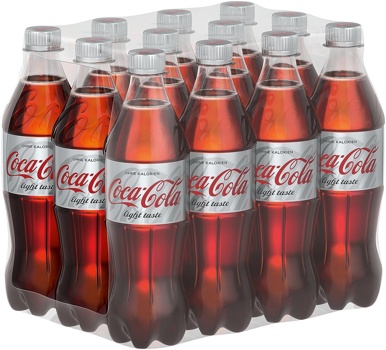 Coca-Cola Light / Erfrischendes Softgetränk in praktischen Flaschen ...