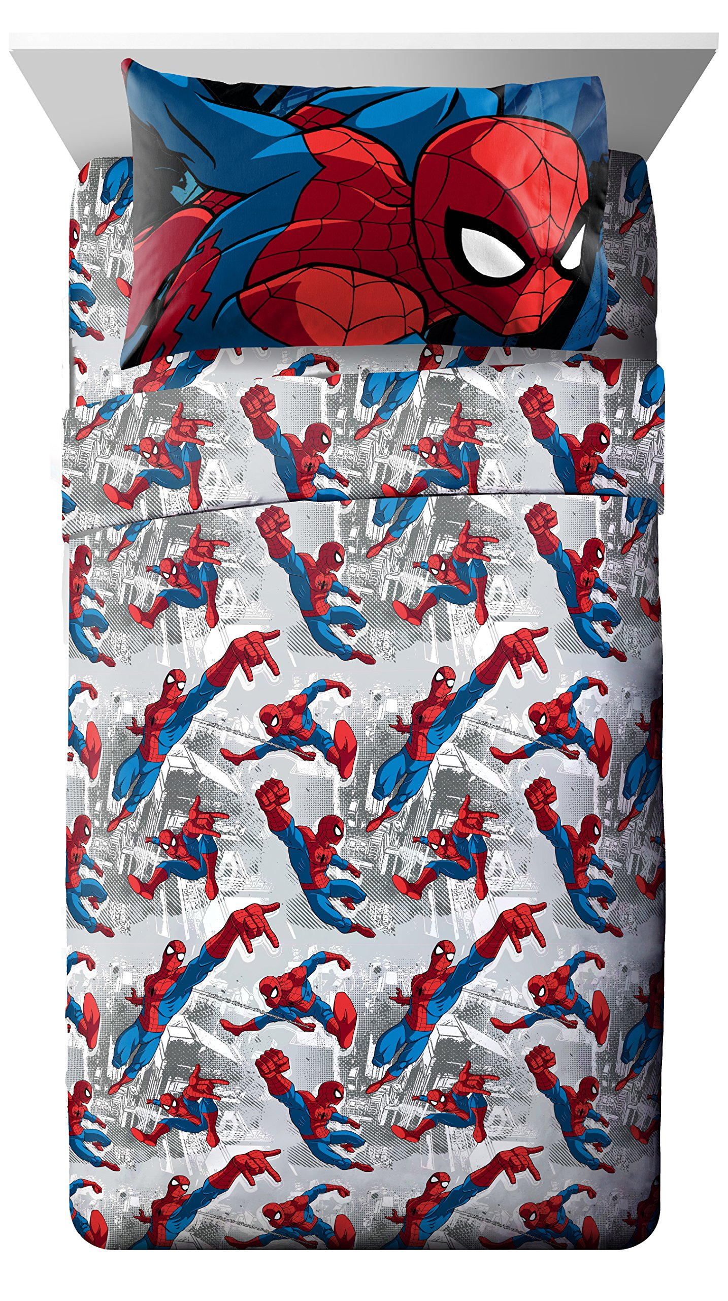 Marvel Spiderman Burst Twin 3 Piece Sheet Set by Jay Franco
