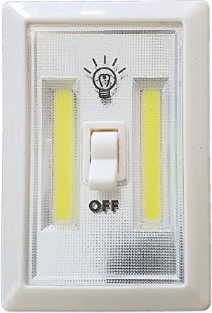 Bright Eyes Battery Powered Portable Led Light Closet Shelf