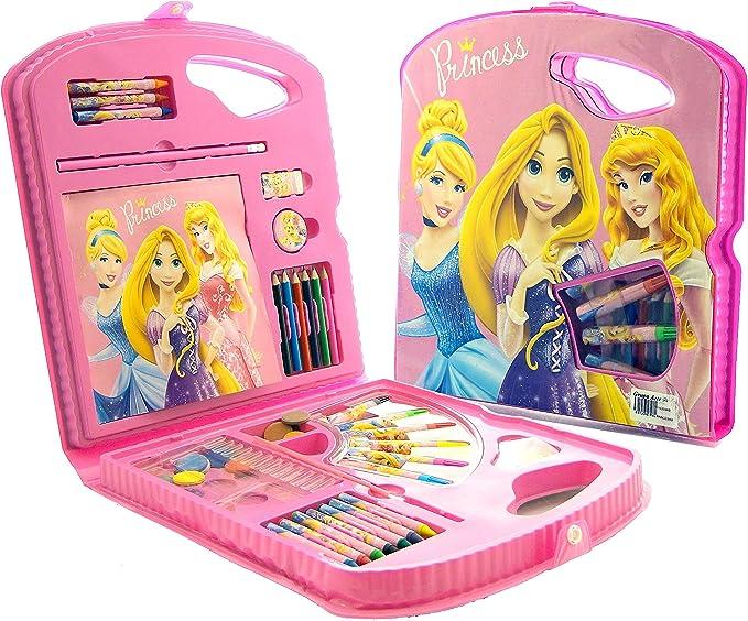 PRINCESAS Estuche PVC 40 PZS: Amazon.es: Juguetes y juegos