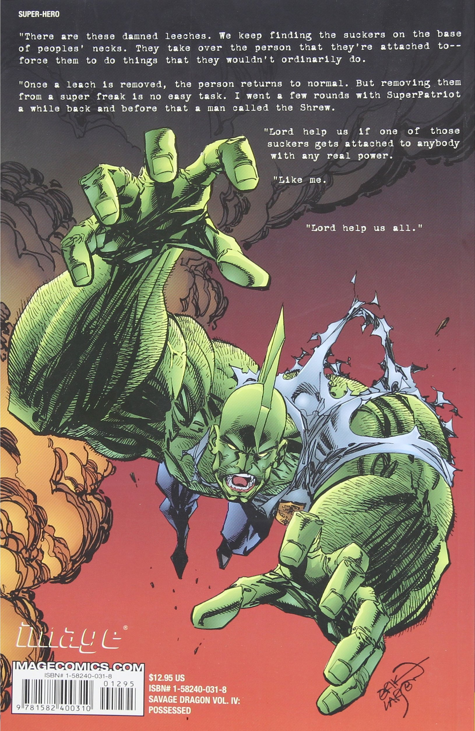 Amazon com: Savage Dragon Vol  4: Possessed (9781582400310