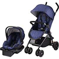 Evenflo Sibby Travel System with LiteMax, Blue- Black, One Size