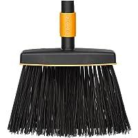 Fiskars Bezem, zonder steel, breedte: 26 cm, kunststof, zwart/oranje, QuikFit, 1001415