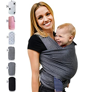 Baby Wrap Sling Fastique Kids Baby Carrier Multiple Positions