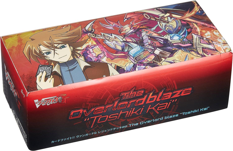 Card Fight Vanguard G VG-G-LD02 2nd [Alternative dealer] Legend deck The Overlord Manufacturer OFFicial shop