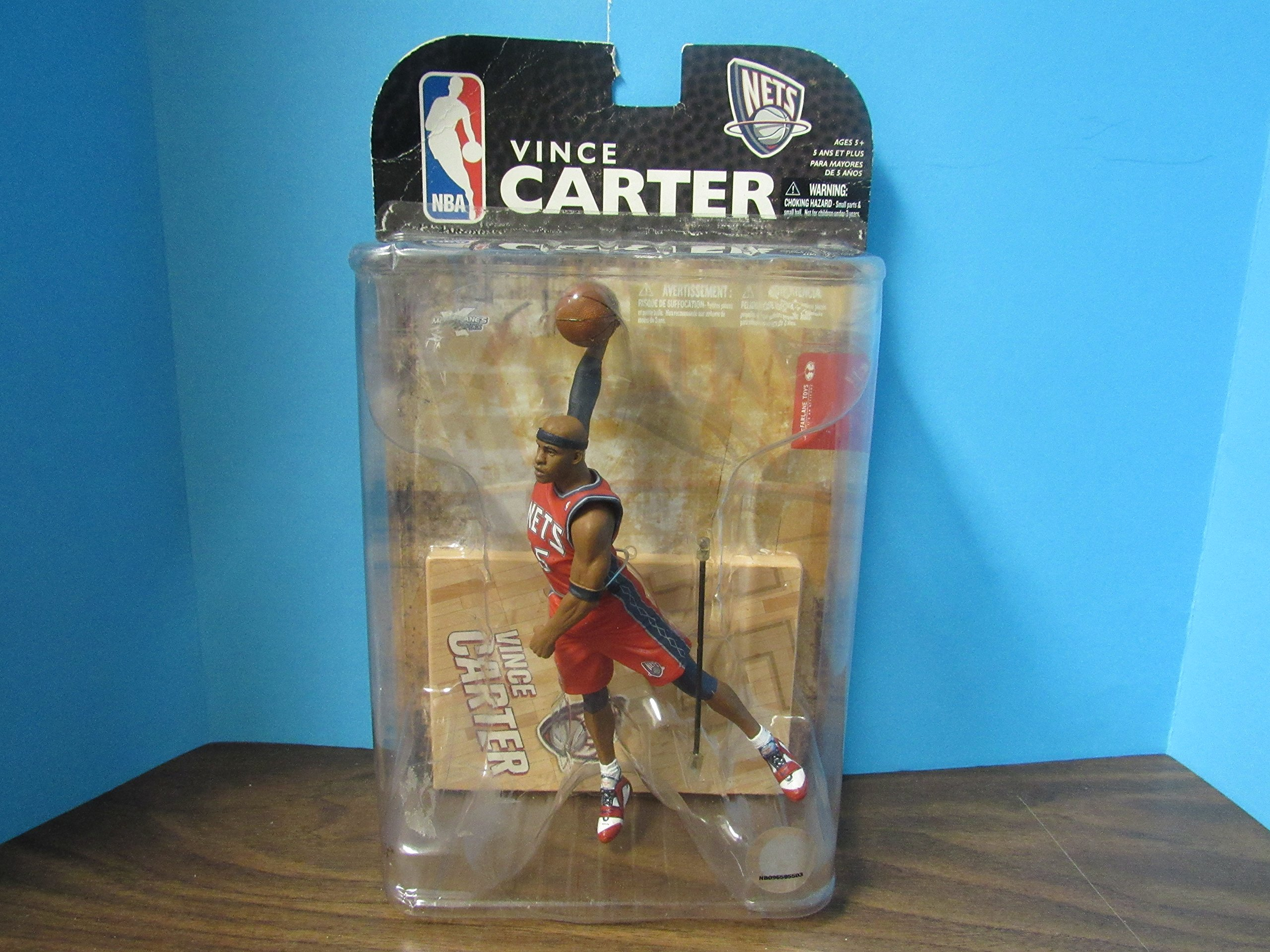 f3bd22cc281 Galleon - McFarlane Toys Action Figure - NBA Sports Picks Series 15 - VINCE  CARTER 3