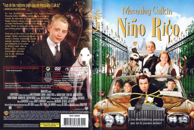 Richie_Rich [DVD]: Amazon.es: Macaulay Culkin, Chelcie Ross ...