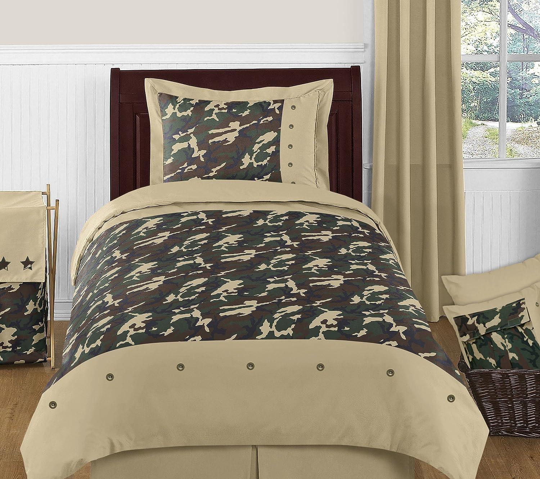Sweet Jojo Designs Green Camo Fabric Memory//Memo Photo Bulletin Board