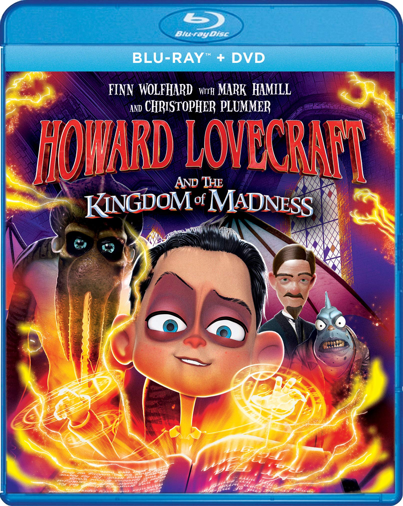 Blu-ray : Howard Lovecraft And The Kingdom Of Madness (Widescreen, 2 Pack)