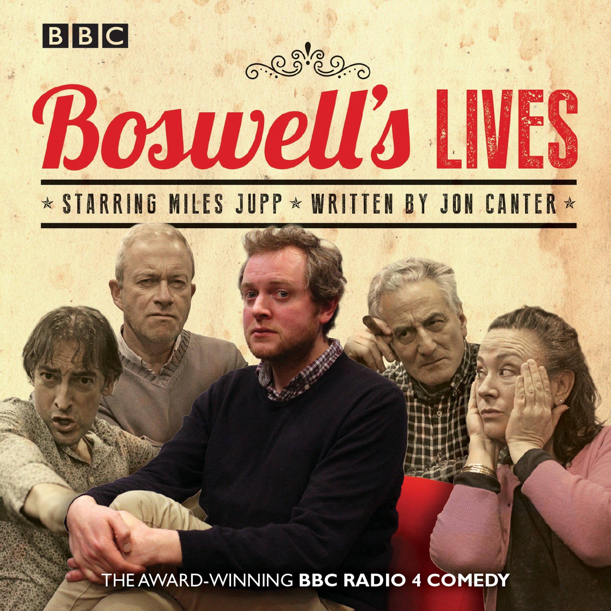 Boswell's Lives: BBC Radio 4 comedy drama: Amazon.co.uk: Jon Canter, Full  Cast, Harry Enfield, Miles Jupp: 9781785294426: Books
