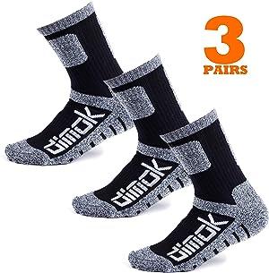 Warm Socks for Men Hockey Hiking Winter Athletic Moisture Wicking Sports Crew Work Socks Mens Women 3 pack