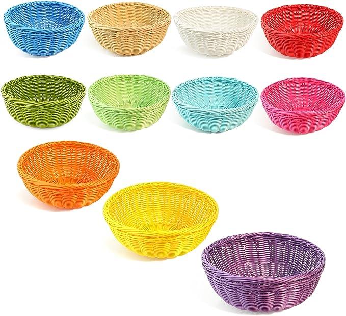 Set of 3 Lime Green Colorbasket Bowl Basket