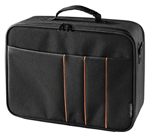 celexon Projector Case, Large Size, 16x11 inches, Projector Carrying case with Hard Shell Frame, for Epson, Acer, Benq, LG.