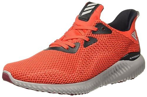 premium selection df050 b5ddb adidas Mens Alphabounce 1 M Running Shoes, (RojbasBuruniNeguti) 7.5