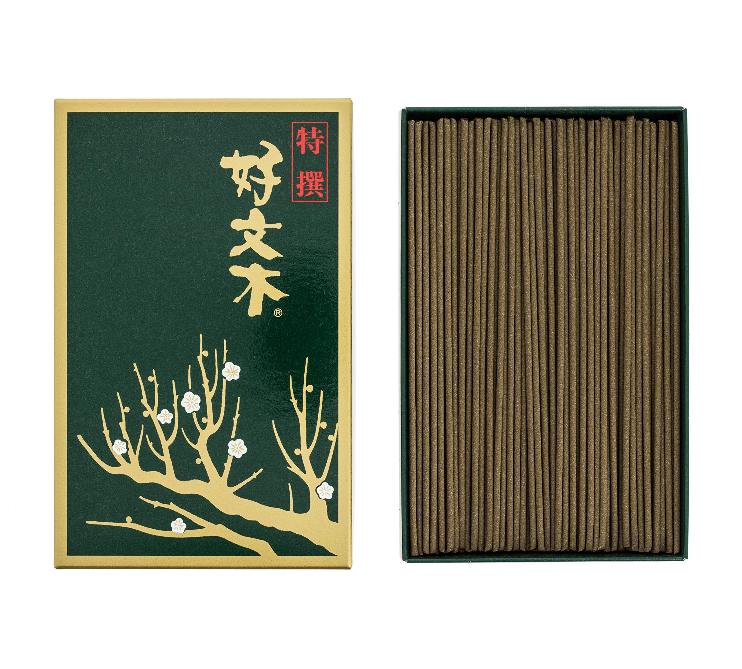 Japanese Incense Kobunboku Tokusen (Premium) Regular Box of 490 Sticks by Baieido by Baieido