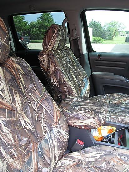 Durafit Seat Covers, HD16 DRT C, Honda Ridgeline Front And Back Seat Set  Custom