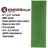 KNIVES PLUS Strop Strop Block, Leather Sharpening
