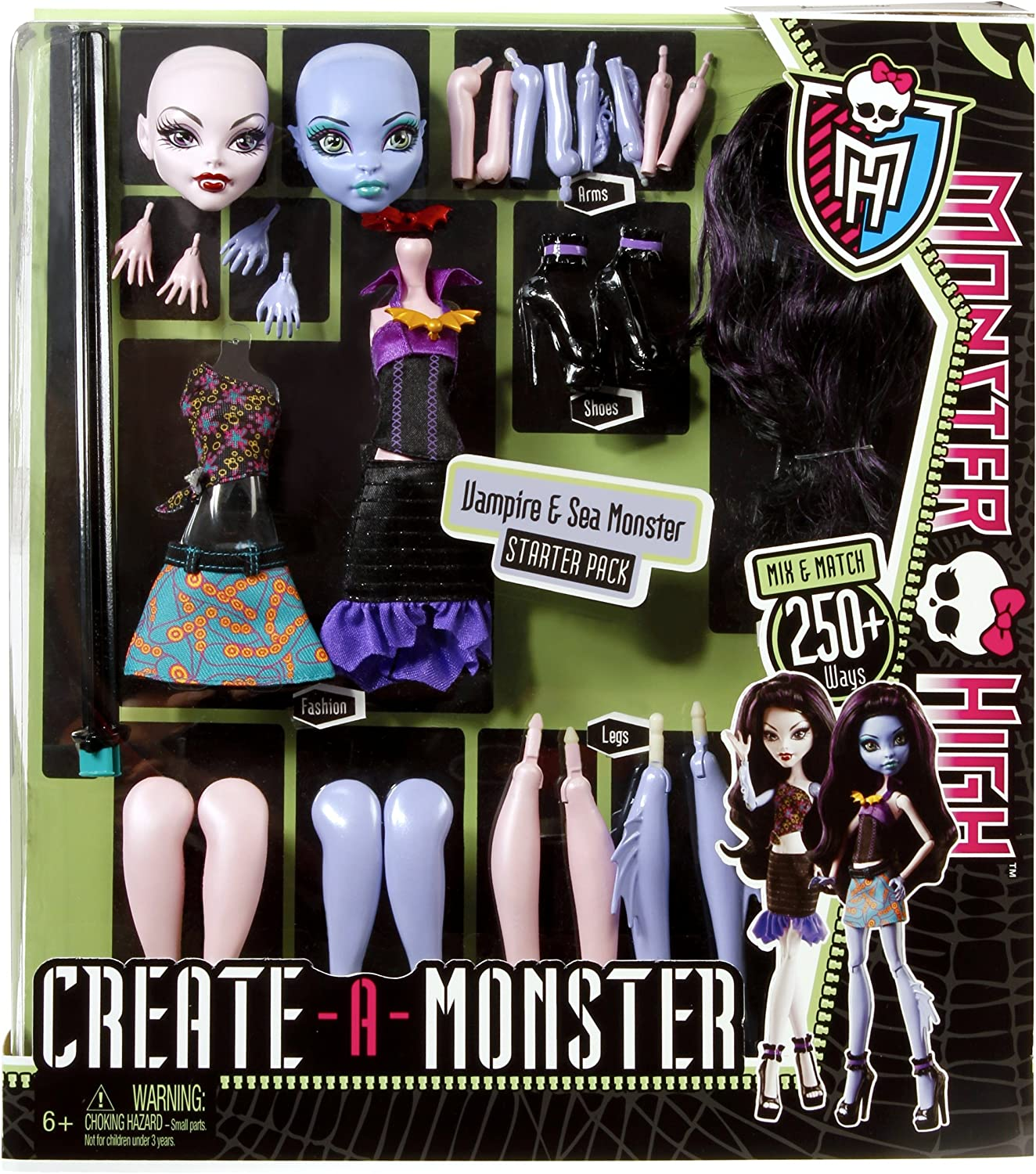 Amazon.es: Monster High Create A Monster - Juego para Crear ...