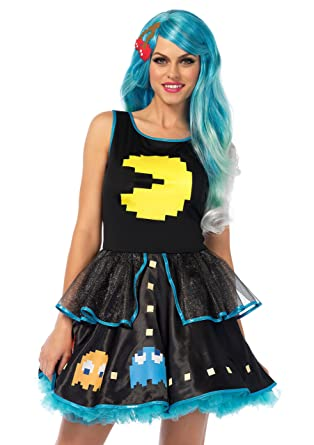 b9bd827433e410 Amazon.com  Leg Avenue Pac-Man Game Dress
