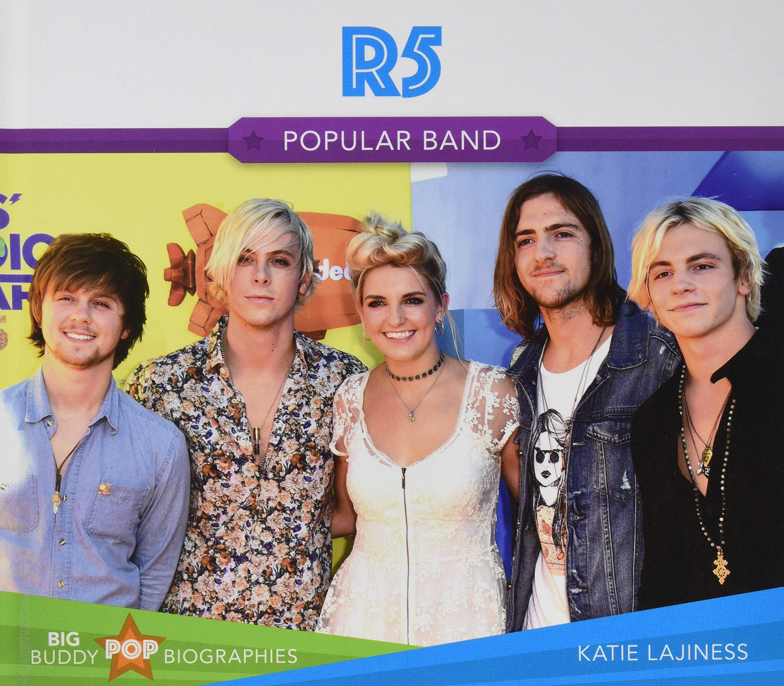 R5: Popular Band (Big Buddy Pop Biographies)