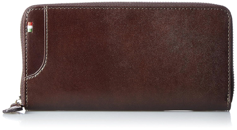 [ミラグロ] 財布 長財布 ラウンドファスナー タンポナートレザーシリーズ CA-S-539 B01G4O5LPY チョコ チョコ -