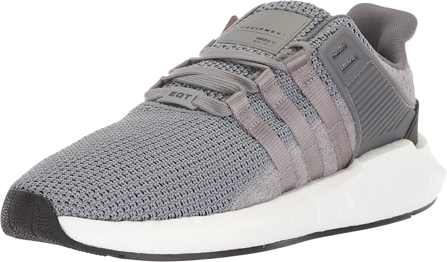 adidas Originals Men s EQT Support 93 17 Running Shoe, Grey Grey White, 8.5 M US