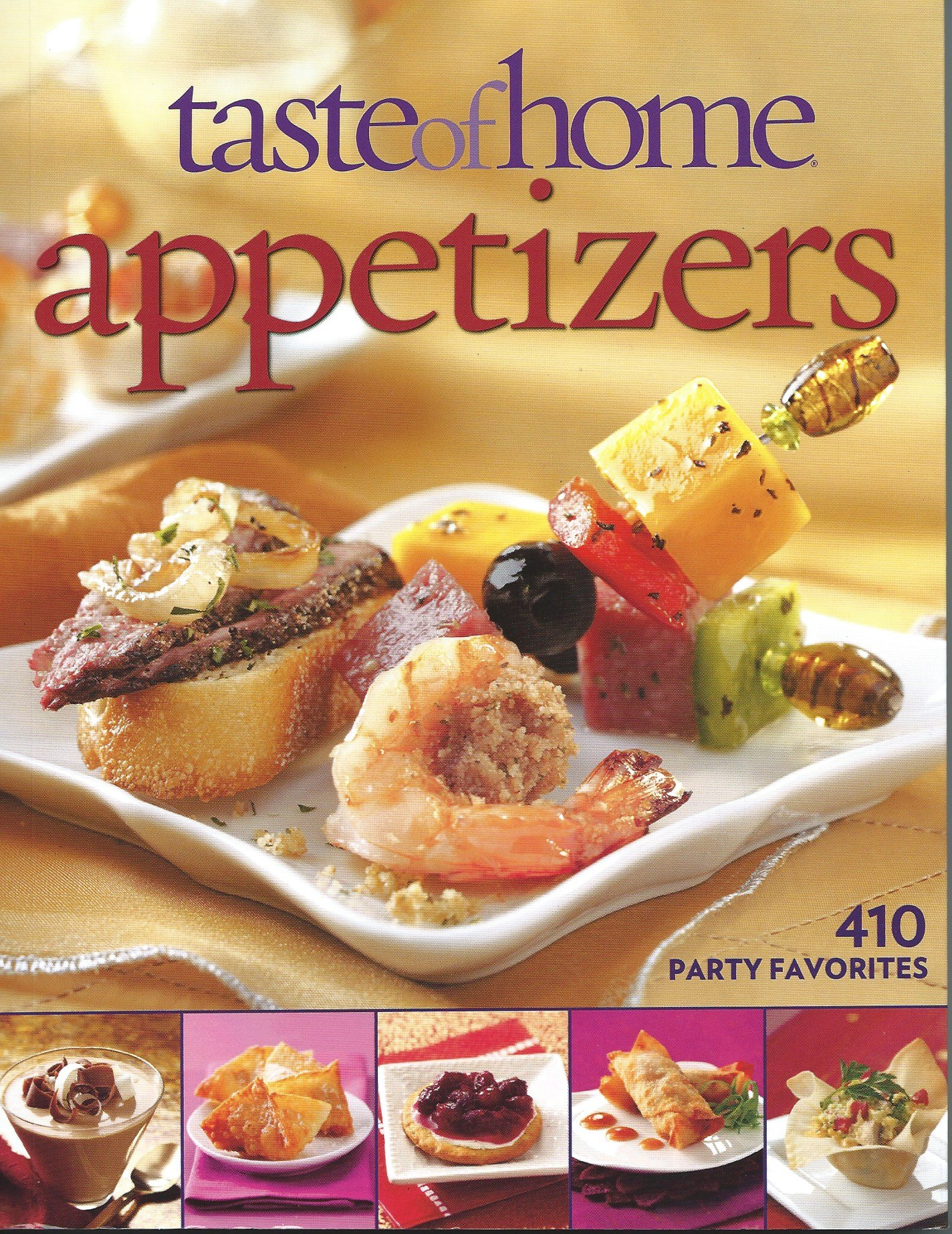 Taste of Home: Appetizers: 410 Party Favorites by Cahterine Cassidy (2011-05-03) pdf epub