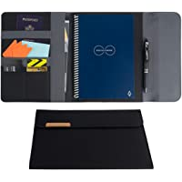 Rocketbook Capsule 2.0 Folio Cover for Core, Panda and Fusion - 100% Recyclable Cover with Pen Holder, Magnetic Clasp…