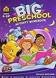 Big Preschool Activity Workbook Ages 4-Up: 1
