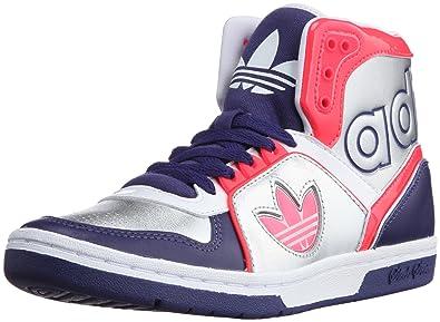 best sneakers fbadc 4a9f9 アディダス adidas ECSTASY MID SLEEK W G4436200 (フレッシュインクS11メタリックシルバー