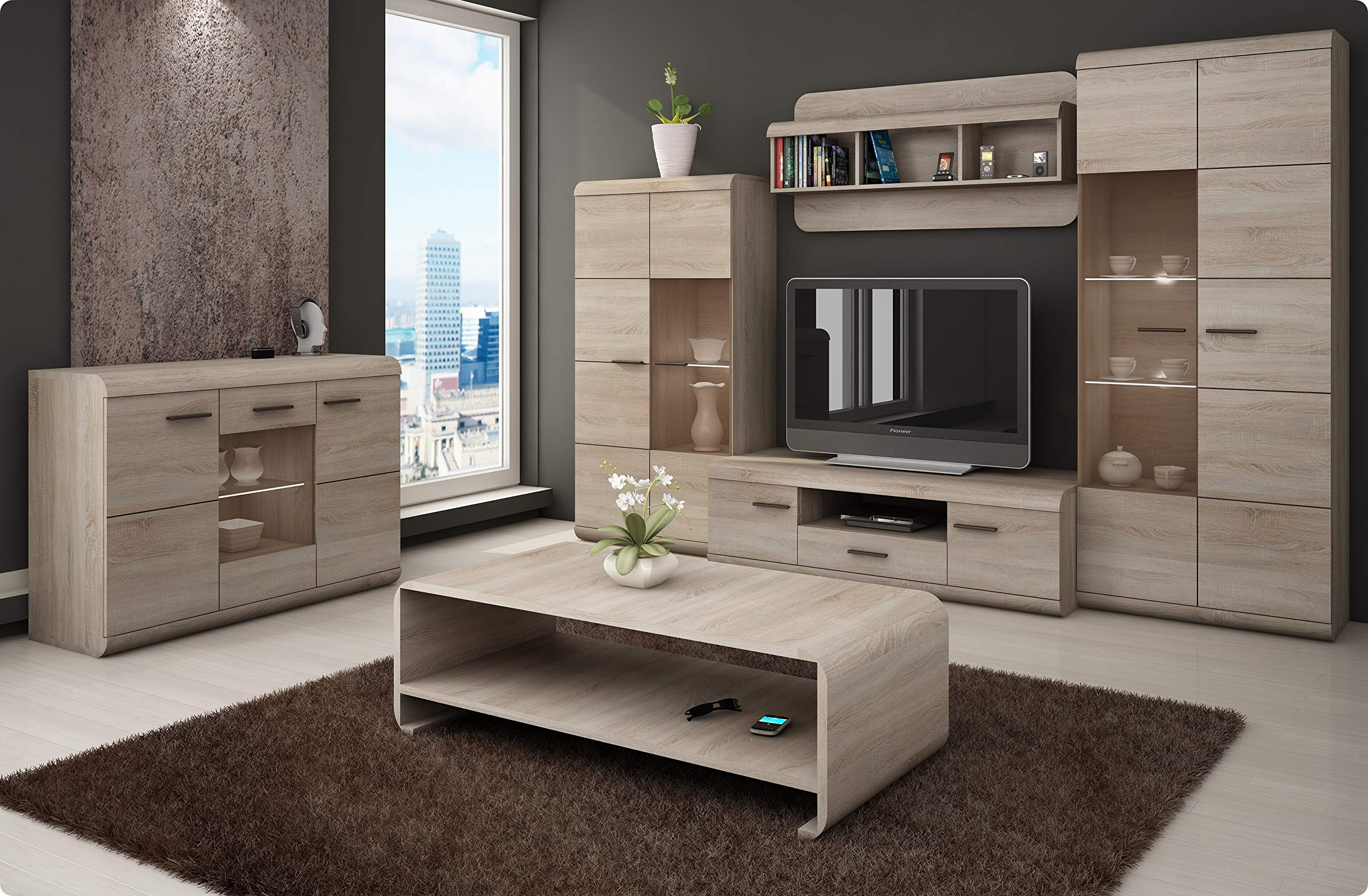 Living Room Furniture Set Lucano Tv Unit Buy Online In China At China Desertcart Com Productid 50535955