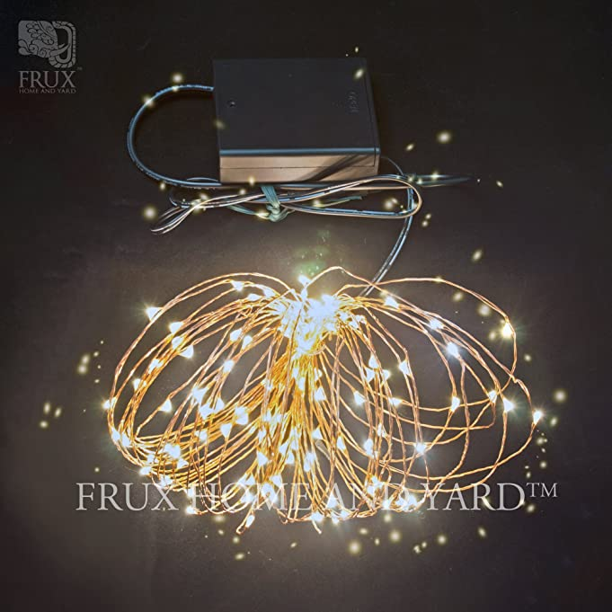 Amazon.com : Fairy Star Twinkle Lights, 39ft Extra Long LED Copper ...