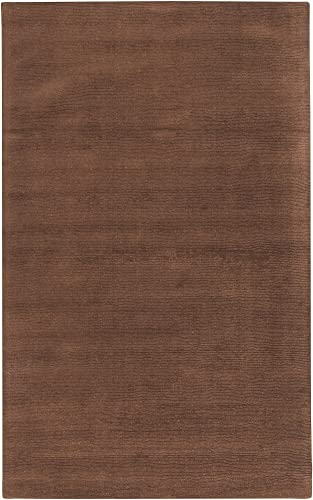 Surya Mystique M-334 Transitional Hand Loomed 100 Wool Brown 2 x 3 Accent Rug