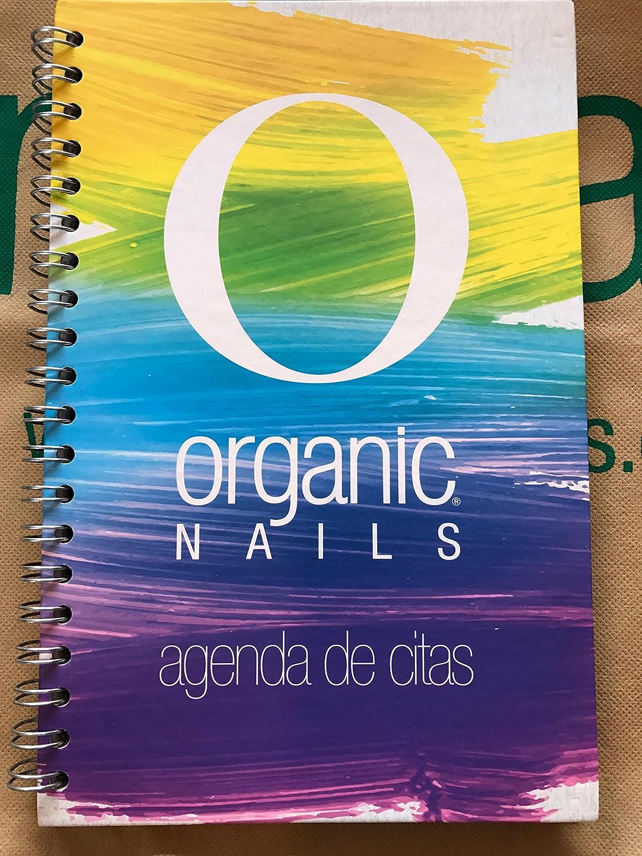 Amazon.com: AGENDA DE CITAS ORGANIC NAILS: Beauty